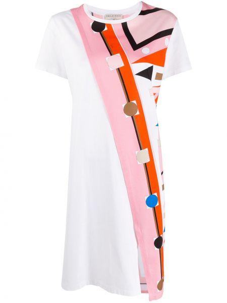Платье мини миди футболка Emilio Pucci