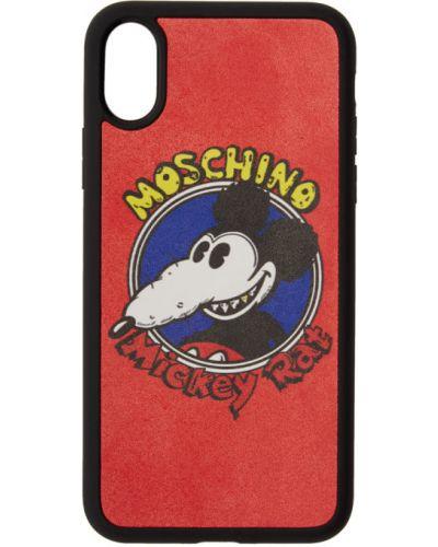 Черная ключница Moschino