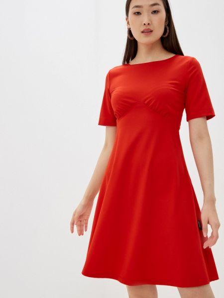 Платье - красное Love Moschino