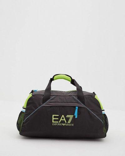 Черная спортивная сумка Ea7