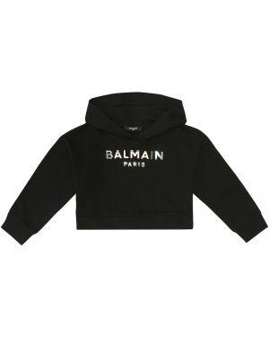 Bluza z kapturem Balmain Kids