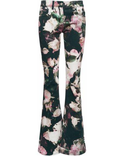Черные джинсы с карманами Blumarine