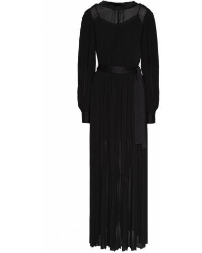 Платье макси с открытой спиной с поясом Karl Lagerfeld