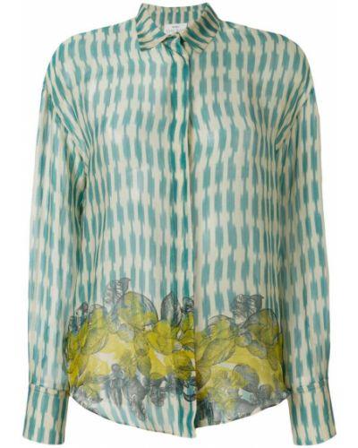 Блузка шелковая цветная Forte Forte