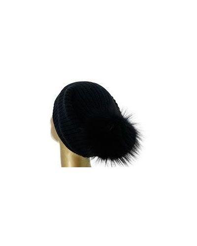 Черная шапка William Sharp