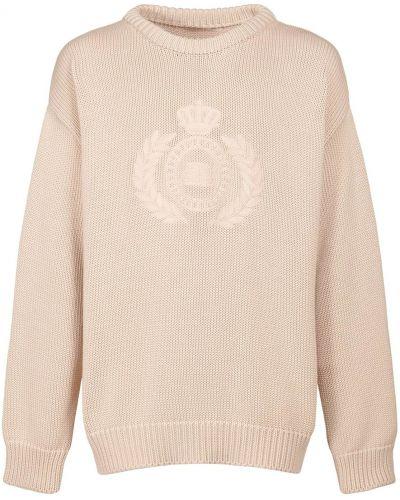 Sweter z haftem Balenciaga