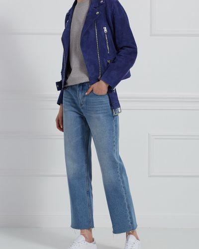 Джинсовая куртка замшевая с карманами Acne Studios