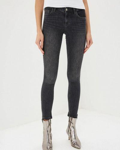Серые джинсы-скинни Liu Jo