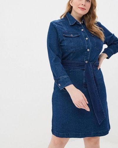 Джинсовое платье - синее Almatrichi