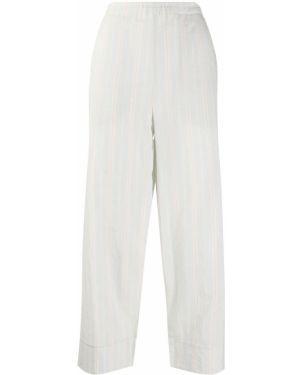 Укороченные брюки в полоску с поясом Barena