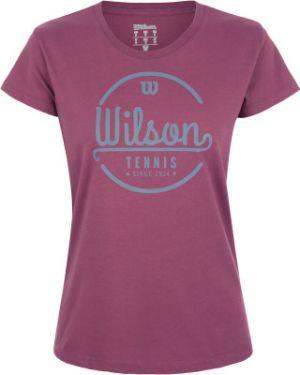 Спортивная футболка - розовая Wilson