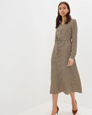 Платье платье-рубашка осеннее Po Pogode