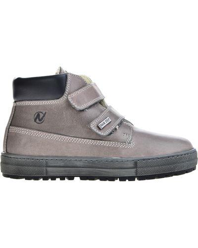 Серые ботинки Naturino