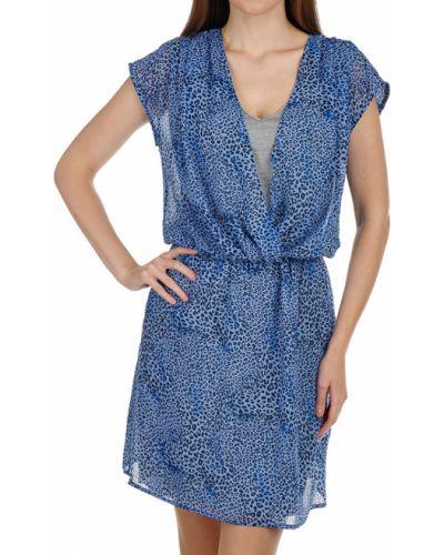 Платье из вискозы - голубое Gas