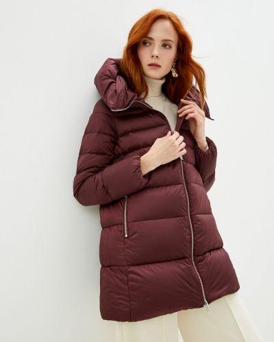 Зимняя куртка осенняя бордовый Add