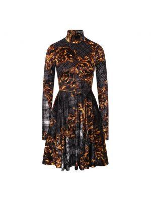 Джинсовое платье - серое Versace Jeans Couture