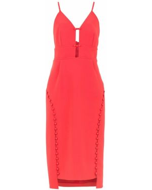 Платье миди с открытой спиной с V-образным вырезом Framed