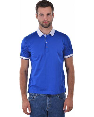 Синее поло Lagerfeld