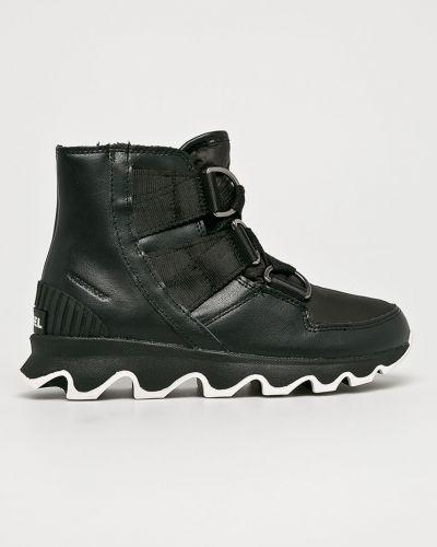 Ботинки черные теплые Sorel