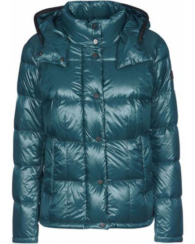 Zielony płaszcz Peuterey