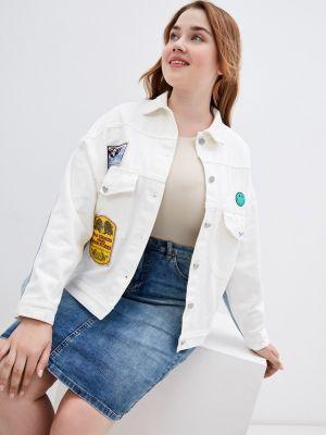 Джинсовая куртка - белая Grafinia