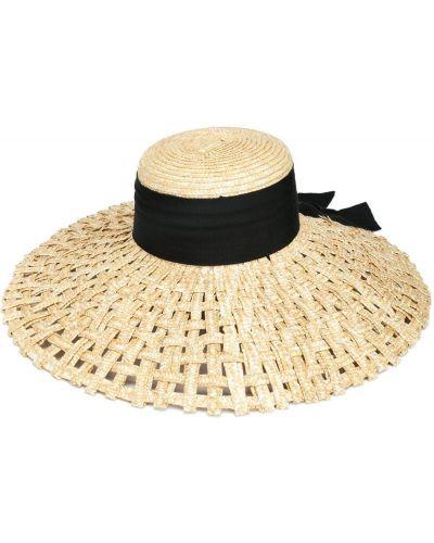 Czarny kapelusz Eugenia Kim