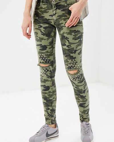 Зеленые брюки Regular