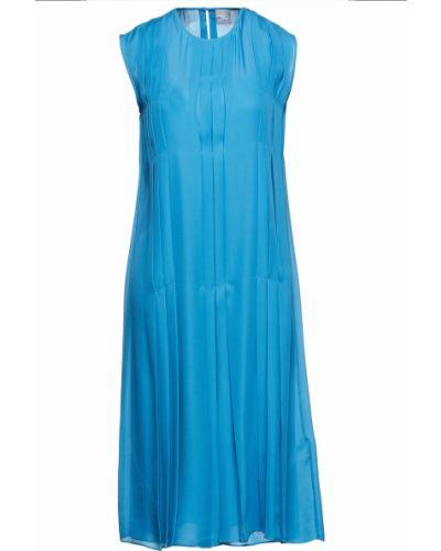 Платье миди - синее Paul Smith