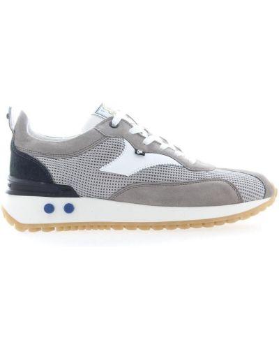 Szare sneakersy srebrne Floris Van Bommel