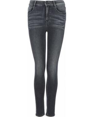 Укороченные джинсы скинни черные Miss Sixty