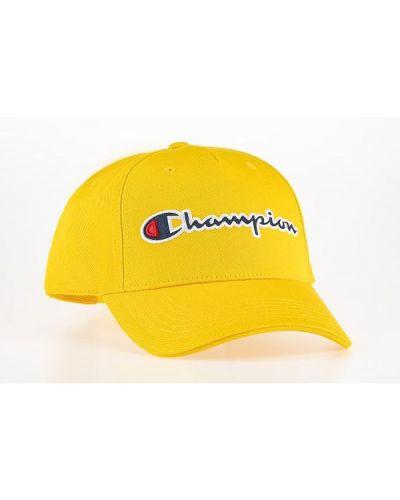 Czapka z daszkiem - żółta Champion