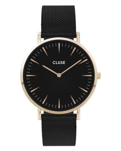 Czarny zegarek boho Cluse