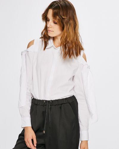 Блузка в полоску белая Jacqueline De Yong