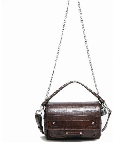 Brązowa torebka vintage Nunoo
