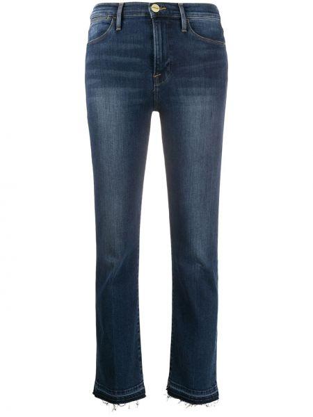 Классические прямые джинсы с карманами на пуговицах Frame