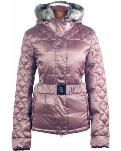 Зимняя куртка розовая пуховый Emporio Armani