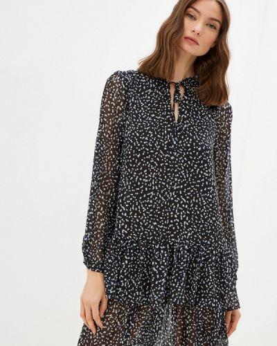 Прямое платье - черное Zarina