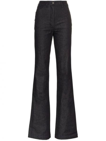 Расклешенные брюки на пуговицах A_plan_application