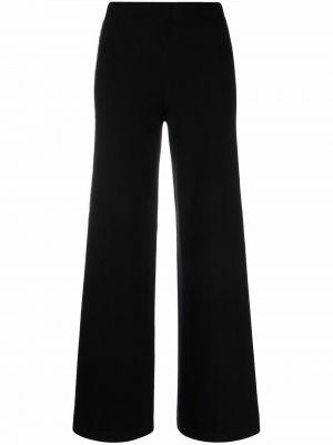 Шерстяные брюки - черные D.exterior