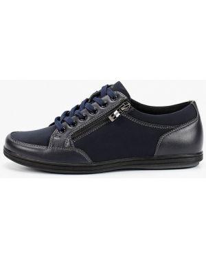 Ботинки из нубука синие T.taccardi