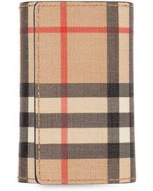 Брелок коричневый винтажный Burberry