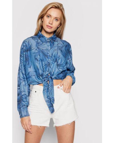 Koszula jeansowa - niebieska Guess