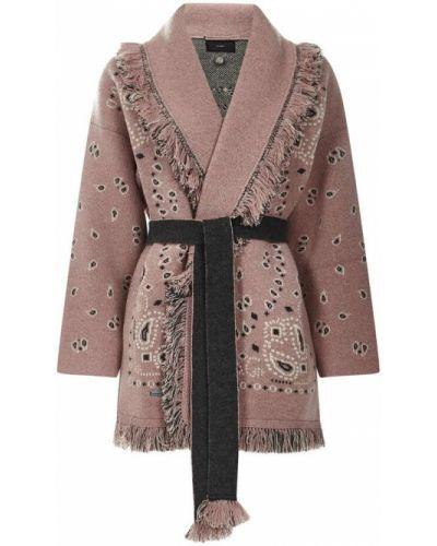 Różowy sweter Alanui