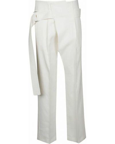 Spodnie - białe Victoria Beckham