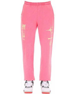 Różowe joggery bawełniane Club Fantasy