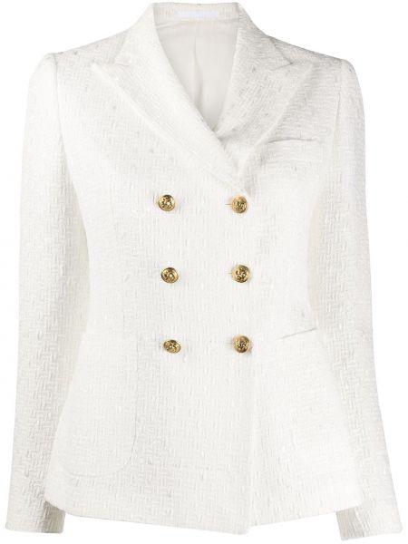 Пиджак прямой с накладными карманами Tagliatore