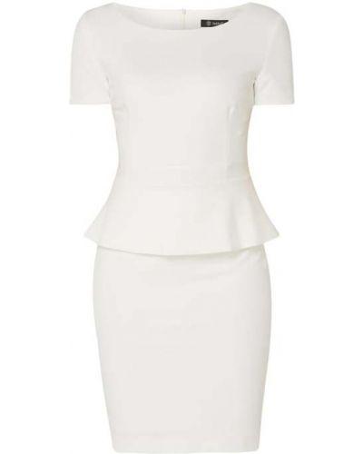 Biała sukienka mini krótki rękaw Paradi