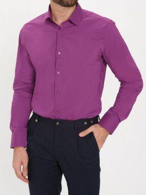 Рубашка с длинным рукавом фиолетовый Bawer