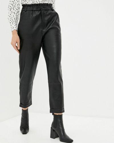 Кожаные черные брюки Tiffosi