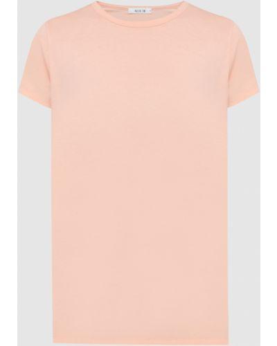 Оранжевая футболка Allude
